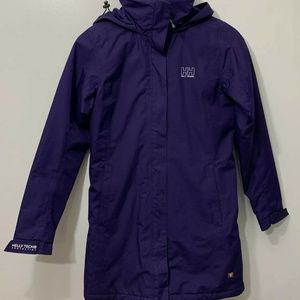 Helly Hansen Aden Women's Purple Jacket Coat Full